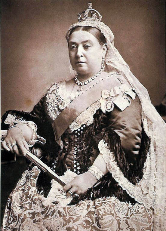 Queen Victoria (source: Wikimedia Commons)