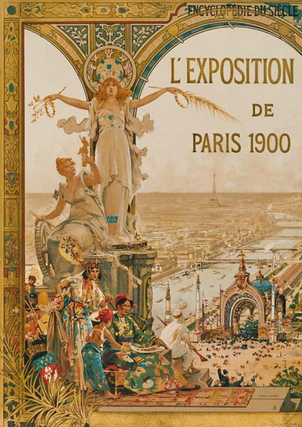 Poster for Paris 1900