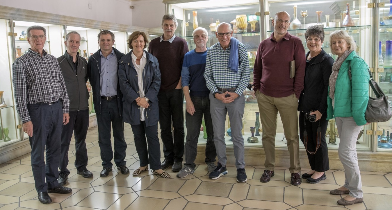 L to R: Bill Fitzsimmons, Warren Gallé, Peter Höltl, Christina Höltl, Jan Mergl, Kai Hasselbach, Tony Ellery, Andy Jelčić, Deb Fitzsimmons, Judith Ellery